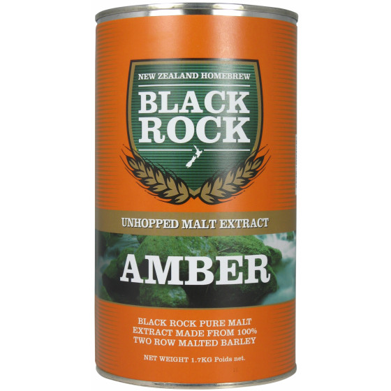 Black Rock Amber Unhopped Liquid Malt Extract (LME) 1.7kg