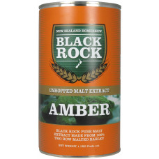 Black Rock Amber Unhopped Liquid Malt Extract (LME) 1.7kg