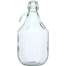 5l glass demijohn with flip top