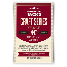 Mangrove Jack's Craft Series Yeast M47 Belgian Abbey (10g)