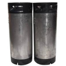 19l ball lock keg – 21cm wide – used