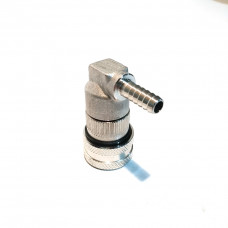 Stainless Liquid Ball Lock Disconnect – 6mm Barb